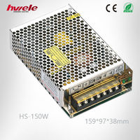 HS-150W switch mode power supply 24V ac to dc converter from zhejiang yueqing china manufacturer