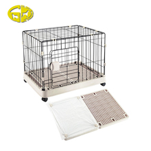 Durable metal standard foldable pet dog cage carriers with cheap price