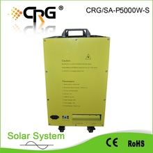 china wholesales Complete 5kw off grid solar system for whole family using