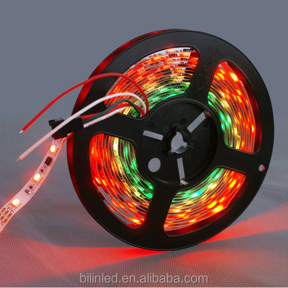 Wholesale pricing waterproof IP68 5M/roll 36W 5V SMD 5050 RGB led strip light