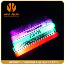 High quality Customized logo Light Up Led Foam Stick ,Glowing in the dark Party Event Led Cheering Stick