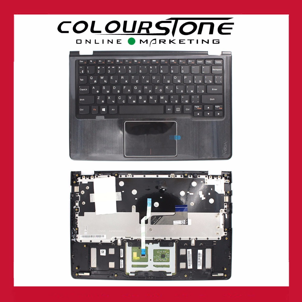 RUSSIA Black laptop keyboard for LENOVO YOGA3 <strong>11</strong> WITH COVER <strong>C</strong> PALMREST Keyboard