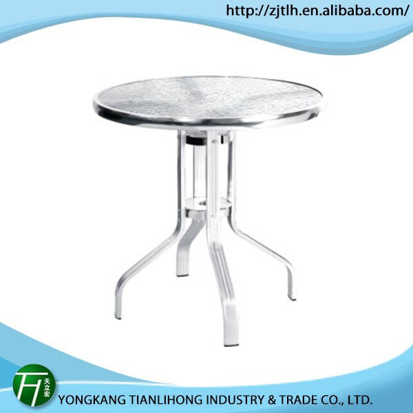 hot salling outdoor console table/glass spacer for glass table
