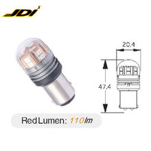 JDI-ED002 1157 15SMD-RED Advanced Auto Parts Car Led Bulbs safety warning Light