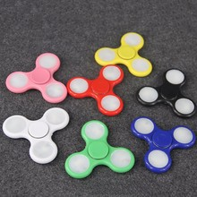 High quality CE EN71 certification led fidget spinner low price