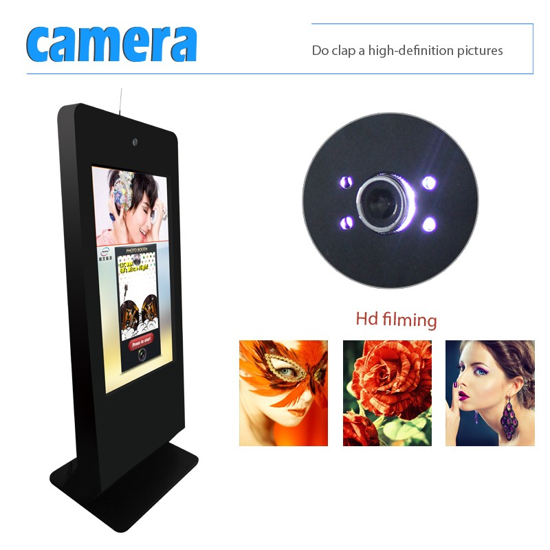 hot photo album cheap media advertising player multitouch touch screen photo booth