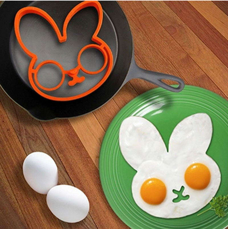 1Pcs Breakfast Pancake Mold Ring Rabbit Egg Fried Frying <strong>Mould</strong>