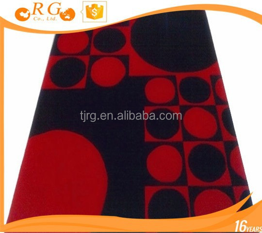 rubber backing custom soft exhibition antislip door carpet