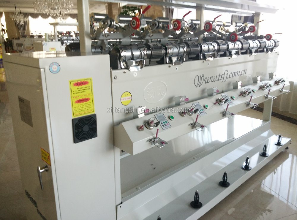 Yarn dyeing soft Sewing yarn winding machine textile machinery factory