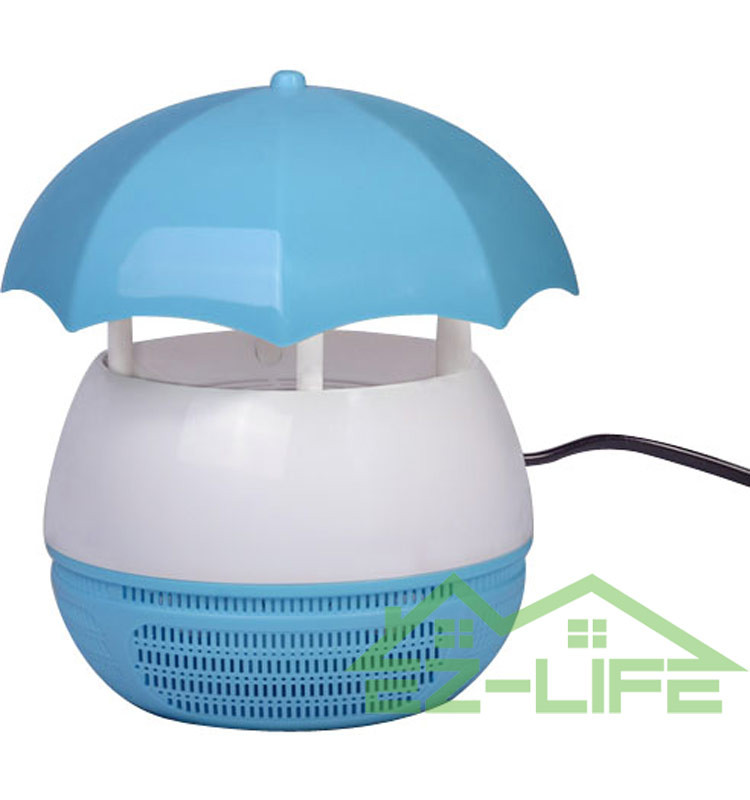 2017 Solar LED light lamp insect killer electric mosquito zapper