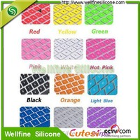 silicone colorful Compute dustproof keyboard cover