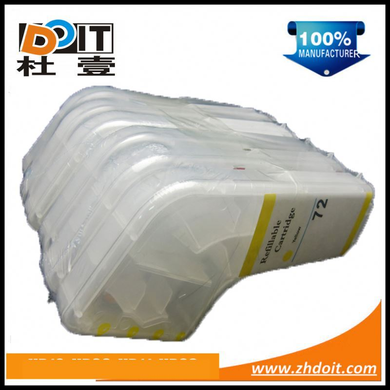 Hot in worldwide for HP10 10XL inkjet refill cartridge for HP Designjet 500PS with show ink level chips