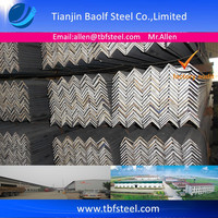 ASTM A36 JIS G3192 SS400 Angle Iron Specification