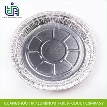 Food grade round alloy 8011 disposable aluminum foil tray for cake baking