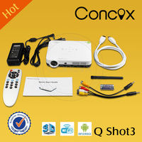Concox Q shot 3 2015 new projector smartphone wireless full hd 1080P beamer China manufacture/ China supplier