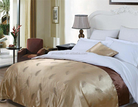 High grade luxury cotton hotel bedding set hotel duvet cover used hotel bedspreads