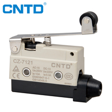CNTD TUV CE Approval High Demand Product Adjustable Roller Lever Micro Switch 5A 250V T85 Travel Switch (CZ-7121)