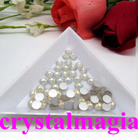 8mm acrylic flat back rhinestones factory cheap price decoration beads