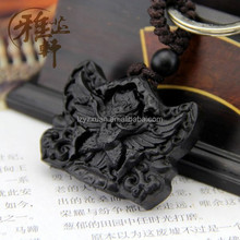 2016 Fashion Chinese Style Craft Gift Auspicious Beast Hand Shaped Antique Wooden Key Holder for success