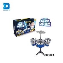 Fashion Band Music Drum Toy Plastic Kids Jazz Drum Set For Boy
