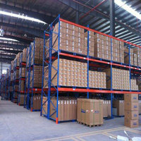 heavy duty Industrial Pallet Racking selective rack for factory warehouse storage