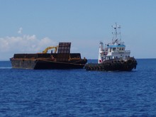 Tug Boat & Barge 230 feet set for sale in Indonesia