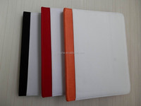 sublimation blank case For IPAD leather wallet flip stand cover