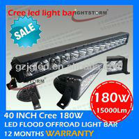 40'' 180w Cree T6 led light bar offroad 4x4 vehicles,led car lights,auto tuning light