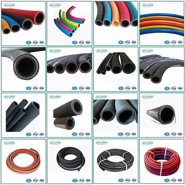 High temperature flexible oil rubber suction pipe 150PSI