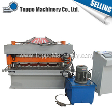 High quality double ibr roof and wall sheet cold forming machine