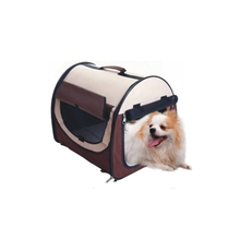 Promotional durable using dog bag carrier backpack with roll up window