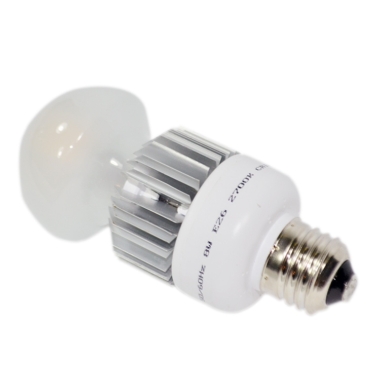 Aluminum and plastic A70 12w led bulb with e27 base led lamp 80 watt equivalent 1100lm led bulb