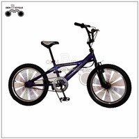 wholesale 20inch low price colorful spokes bmx bike