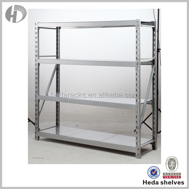 Stainless steel medium duty tire pallet rack with strong beam