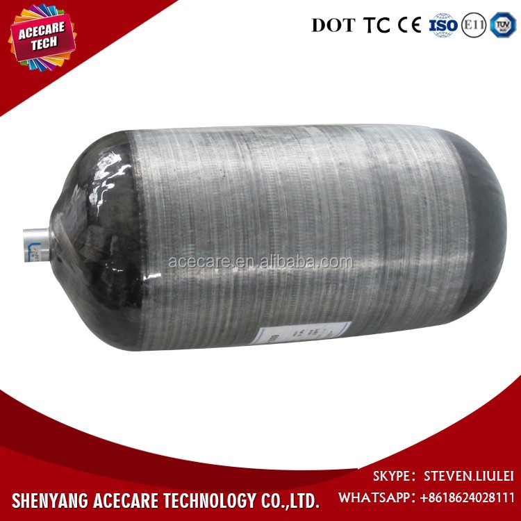 Type III cylinder, Typ 3 cylinder, 128L Carbon fiber fully wrapped aluminum cylinders for Hydrogen Powered Vehicles