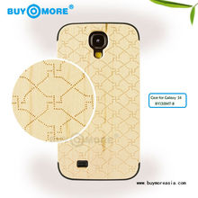 white porcelain engrave wooden case portable wooden case for samsung s4