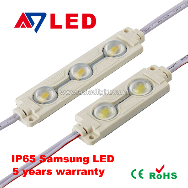 CE&RoHS certified Ultra-bright 2 chips triple led smd module DC12v smd 3528 2835 5630 5730 led module
