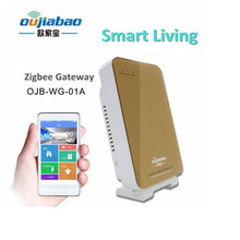 2016 High quality zigbee wifi gateway smart home security controlled by phone APP