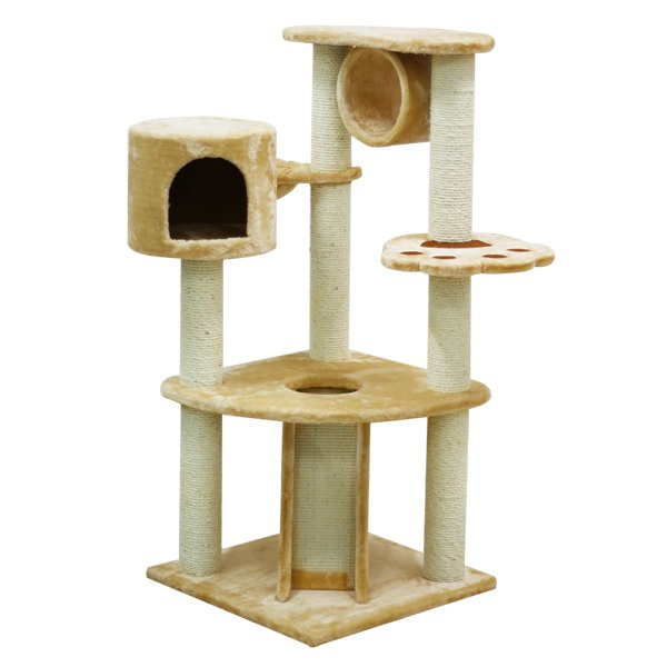 Manufacturer Hot selling Colored Sisal Cat Scratching Post