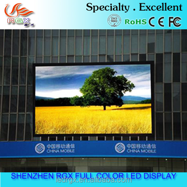 Shenzhen RGX OEM led sign display p4.81 HD outdoor led display electric projector screen