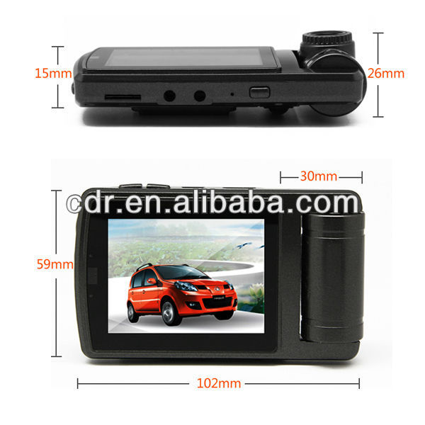car black box with motion detect USB Real time record 32G SD card supported OEM ODM