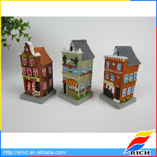 Handmade carved miniature models 3d building house for sale
