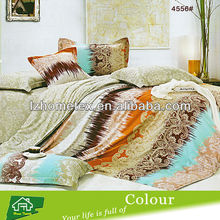 Poly cotton printed bed sheet