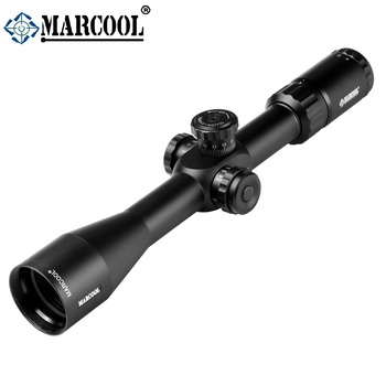 2019 wholesale hunting rifle scopes MARCOOL 4-16X44 riflescopes hunting scopes 1/10MIL 30mm tube pcp air gun for sale