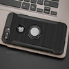 New creative tpu magnetic kickstand mobile phone case with ring holder for iphone 6 7 8 X