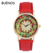 Geneva Creative Retro Pastoral Style Ladies Quartz Watch