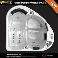 Special design!!!Sex hot tub massage spa Triangle hot tub spa Hot and Cold tub