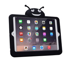 Full protective Rugged Shockproof rubber case for ipad mini Silicone Mini case cover