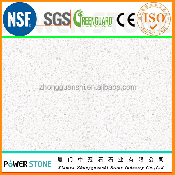 Big Grain Fine Grain White Quartz Stone