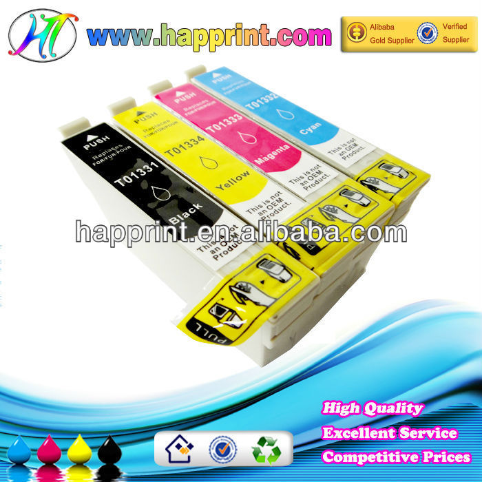 wholesale refilled inkjet cartridges for Epson T1401 T1402 T1403 T1404 (TOP SALE)